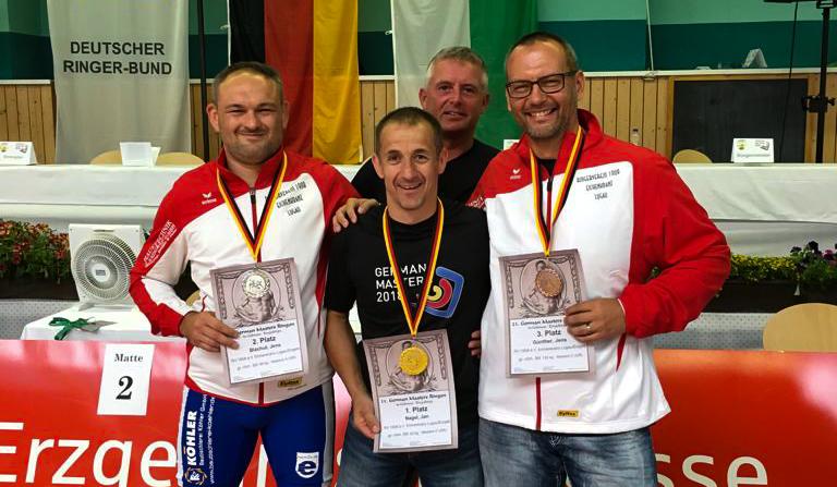 Medaillenflut für Eichenkränze bei German Masters in Gelenau