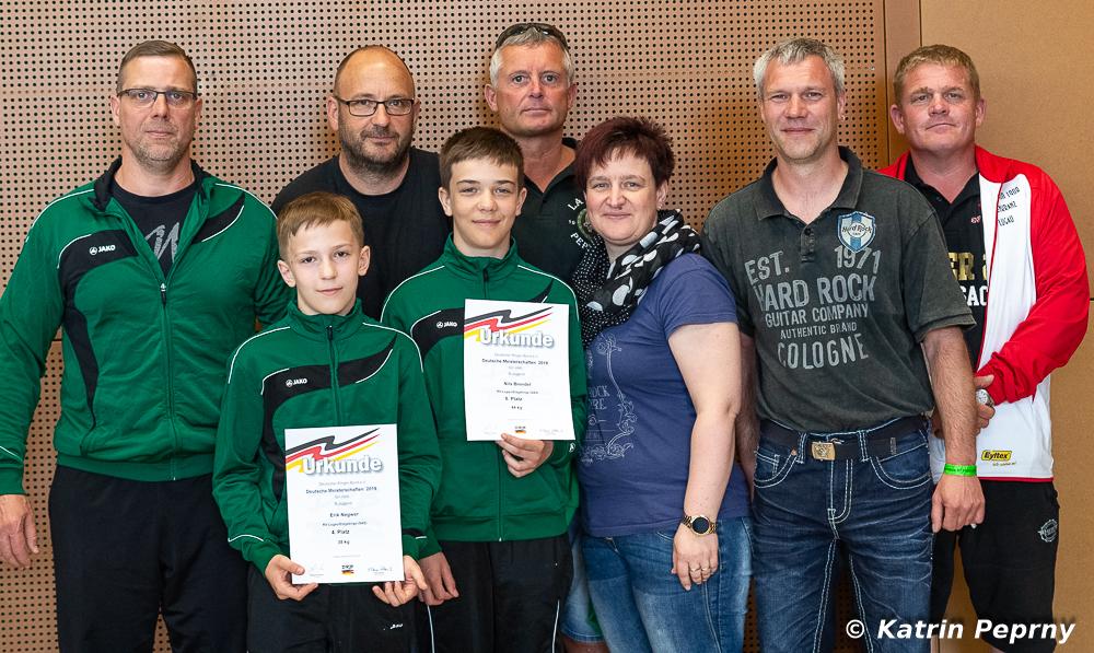 Deutsche Meisterschaften Jugend B (GR) in Hösbach