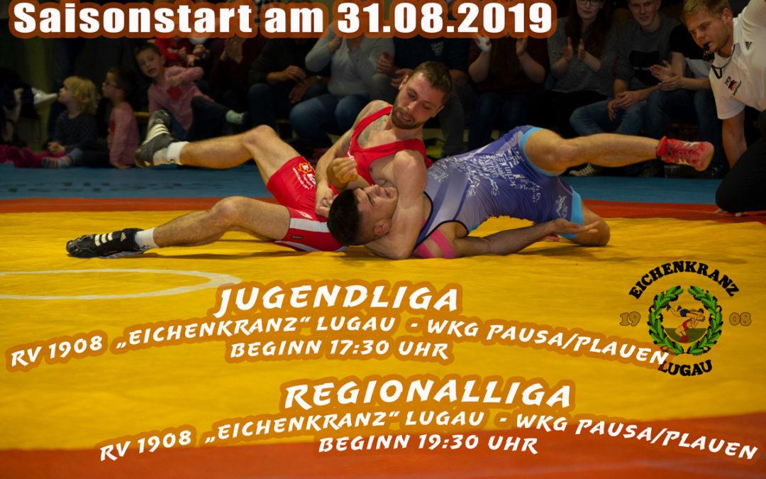 Saisonstart für Regionalliga am 31.08.2019
