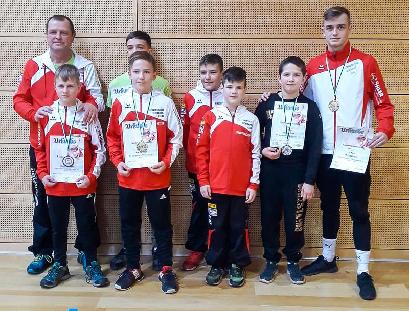 5 Medaillen für Nachwuchs bei den Landesmeisterschaften
