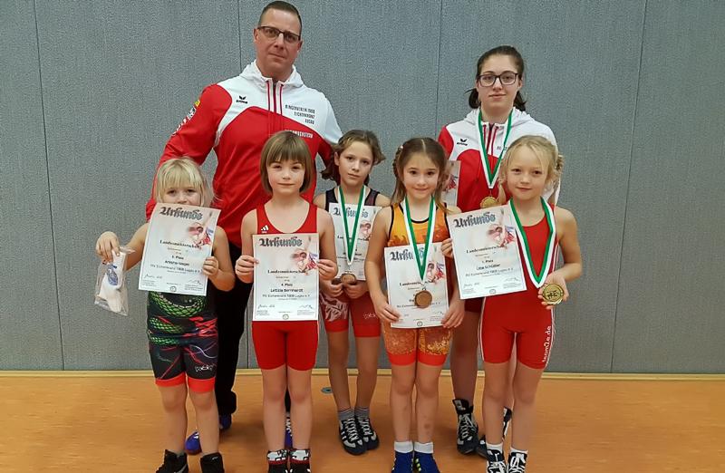 GOLD für Leja zur Landesmeisterschaft