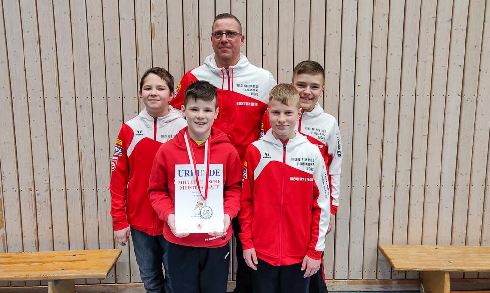 Silber für Moritz Ose bei den Mitteldeutschen Meisterschaften