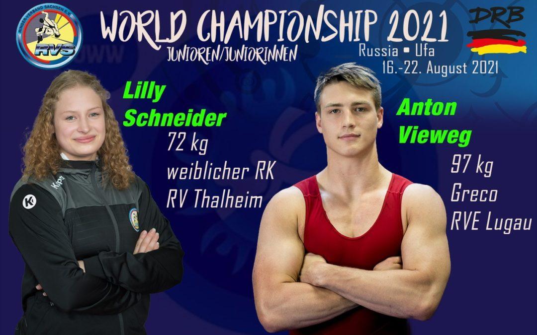 Mission Weltmeisterschaft für Anton beginnt