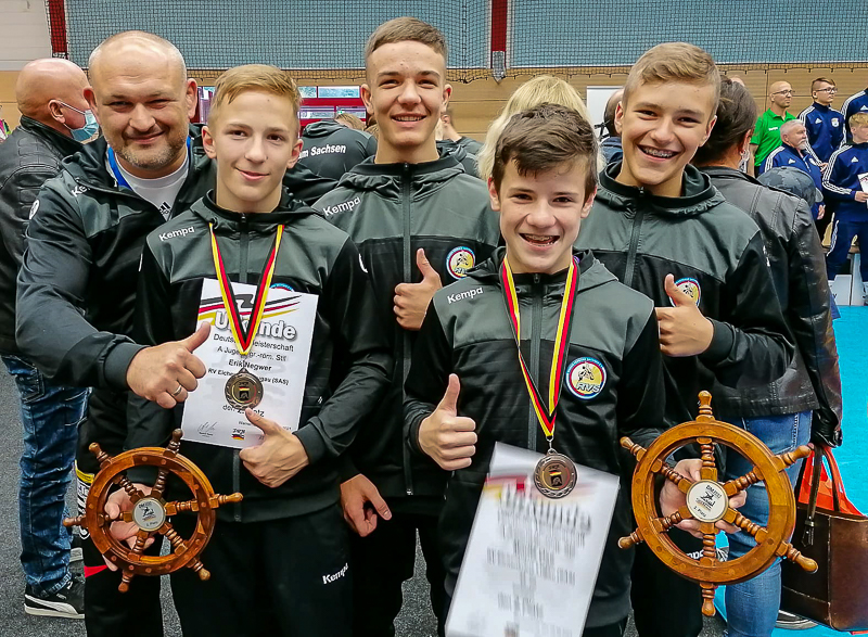 Deutsche Meisterschaften Jugend A (GR) vom 27. – 29.08.2021 in Warnemünde