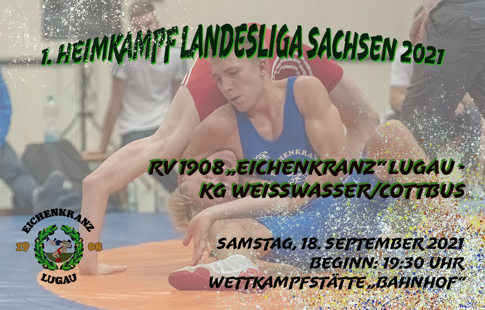 1. Heimkampf Landesliga Sachsen 2021 am 18.09.2021